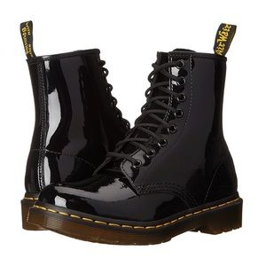 Dr Martens boots 1460 patent leather shiny size 6